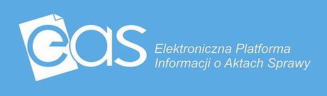 Baner z linkiem do Elektronicznej Platformy Informacji o Aktach Sprawy